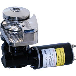 Windlass for Boats to 30', Stainless Steel, 990lb. Max. Pull, 12V/40A Voltage/Draw, Speed Up to 95 ft./min.