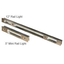 "12"" Rail Light, White/Blue"