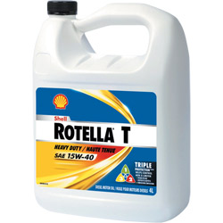Shell Rotella T Engine Oil - SAE 40W - Gal