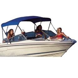 "Hot Shot Bimini Top Kit 6'L x 54""H x 79-84""W"