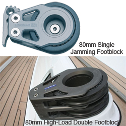 60mm, 80mm, 105mm, 130mm & 155mm Racing Footblocks