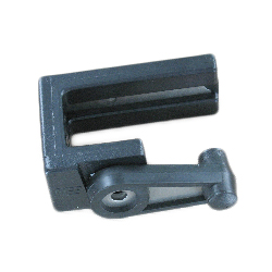 Marine East Gate Latch, 1-1/4, Left, Black
