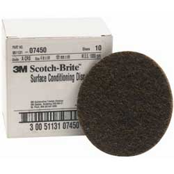 "4"" Scotch-Brite™ Surface Conditioning Disc, Coarse"