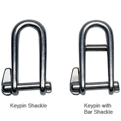 Keypin Shackles, Captive Pin