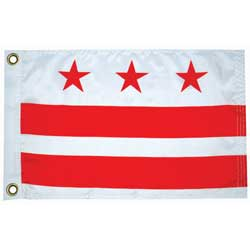 "Washington DC State Flag, 12"" x 18"""