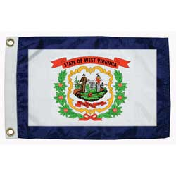 "West Virgina State Flag, 12"" x 18"""