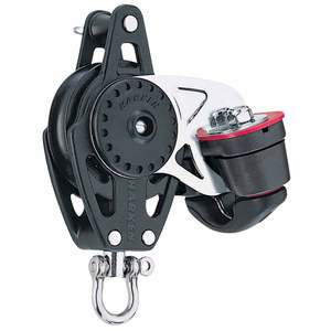 40mm Carbo Air® Single Block with Becket and Cam Cleat