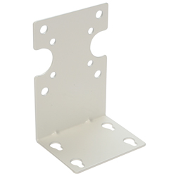 Mounting Bracket, Single, white