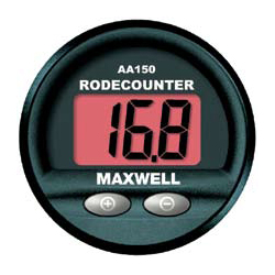 Maxwell Marine AA 150 Panel-Mount Rode Counter Sale $414.99 SKU: 11819935 ID# P102939 UPC# 9414761049412 :