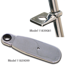 Stainless-Steel Clamp-on Accessory Mounts
