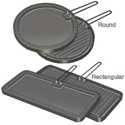 Reversible Non-Stick Griddles