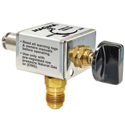 Extra-Low Output CNG Control Valve for Magma TrailMate Grills