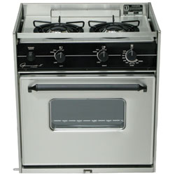 Two-Burner Princess Propane Range Oven