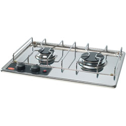 Two-Burner Built-In Propane Cooktop