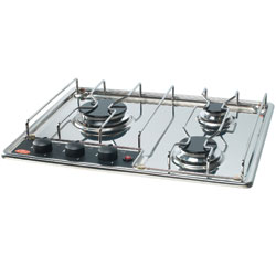 Three-Burner Built-In Propane Cooktop