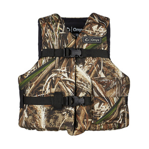 "Camouflage Sport Life Jacket, Youth (50-90lb.), 24""-29"" Chest Size"