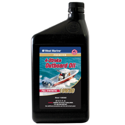 Premium 4-Stroke Full Synthetic Engine Oil, 10W30, Qt.