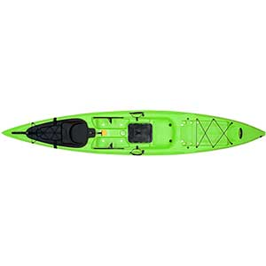 Sit-On-Top Kayak X-13, Lime