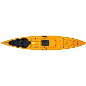 Sit-On-Top Kayak X-13, Mango