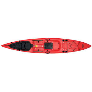 Sit-On-Top Kayak X-13, Red