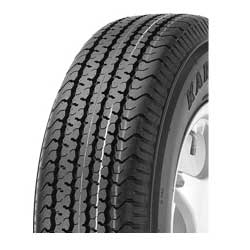 "Radial Trailer Tire, 15"", ST205/75R15C, Load Rating C"