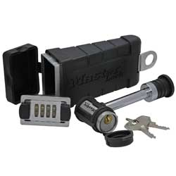 Receiver Lock with Key Safe