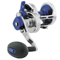 Saltiga® 2-Speed Lever Drag Conventional Reels, SALD50-2SPD, 310/40lb., 6.3:1/3.1:1, 26.4oz.