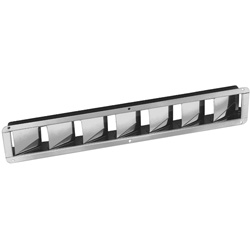 Narrow Stainless-Steel Louvered Vents