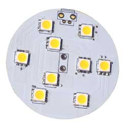Warm White Surface Mount Dome Light Conversion LED Kit