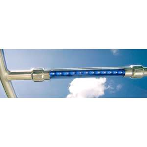 T-Top In-Line Aluminum LED Light, Dual Blue/White
