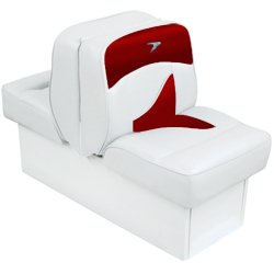 Wise Seating Deluxe Lounge Seat - White/Red Sale $259.99 SKU: 12066312 ID# 8WD1033-0032 UPC# 85211758643 :