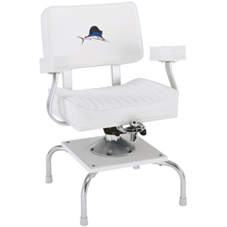 Quad-Base Fighting Chair with Arm Rests