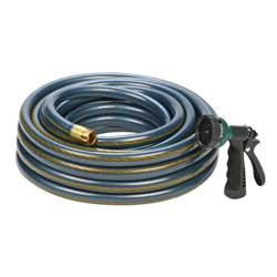 Wash Down Hose with Nozzle, 60'
