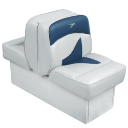 Deluxe Lounge Seat -Gray/Navy