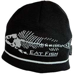 Eat Fish Knitted Beanie