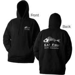 Men's Eat Fish Hooded Sweatshirt
