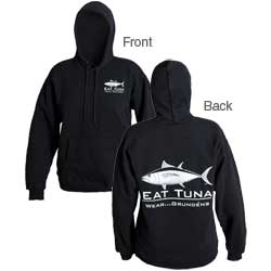 Men's Eat Tuna Hooded Sweatshirt