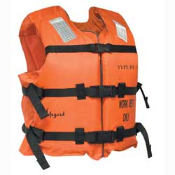 Industrial Work Life Jacket, PFD, XL