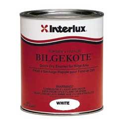 Interlux Boat Mineral Based Undercoat Paint, Gallon, White Bilgekote