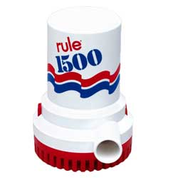 Rule 1500 Electric Submersible Pump, 12V