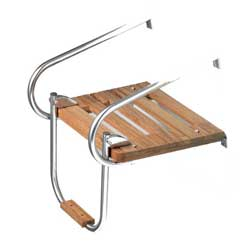 Whitecap Teak Swim Platform, Inboard/Outboard