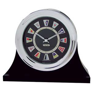 Nautical Flag Clock