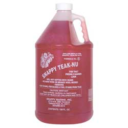 Snappy Teak-Nu Two-Step Teak Cleaning, Part One, Cleaning Solution