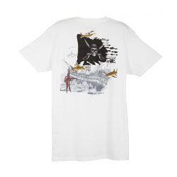 Young Men's Pirate Shark 4 Short-Sleeve Shirt