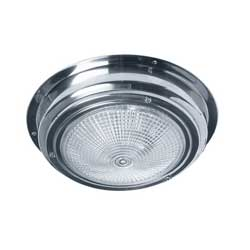 "LED Interior Dome Light, 5-1/2"", Stainless Steel"