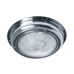LED Interior Dome Light, Stainless Steel, 7""