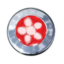 Recessed Red Interior Spotlight