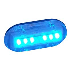 Underwater LED Puck Light, Blue