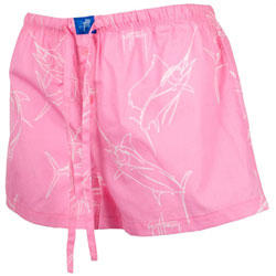 Juniors' Brushstroke Slam Dorm Shorts