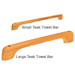 Teak Towel Bars